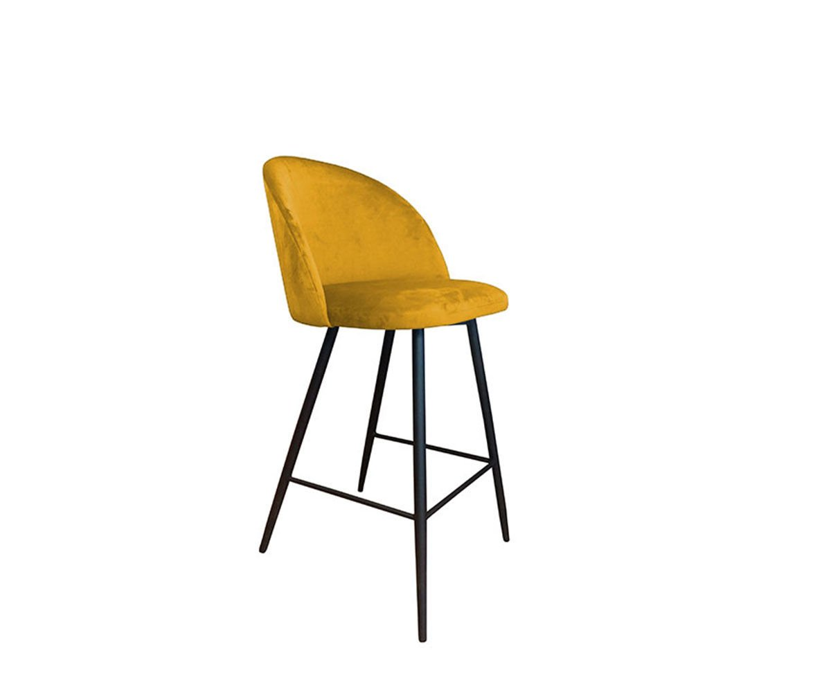 Kalipso Bar Stool Yellow Mustard Material Mg 15 Yellow Offer Chairs Office Conference Room Restaurant Hotel Cafe Living Room Dining Room Kitchen Chairs To