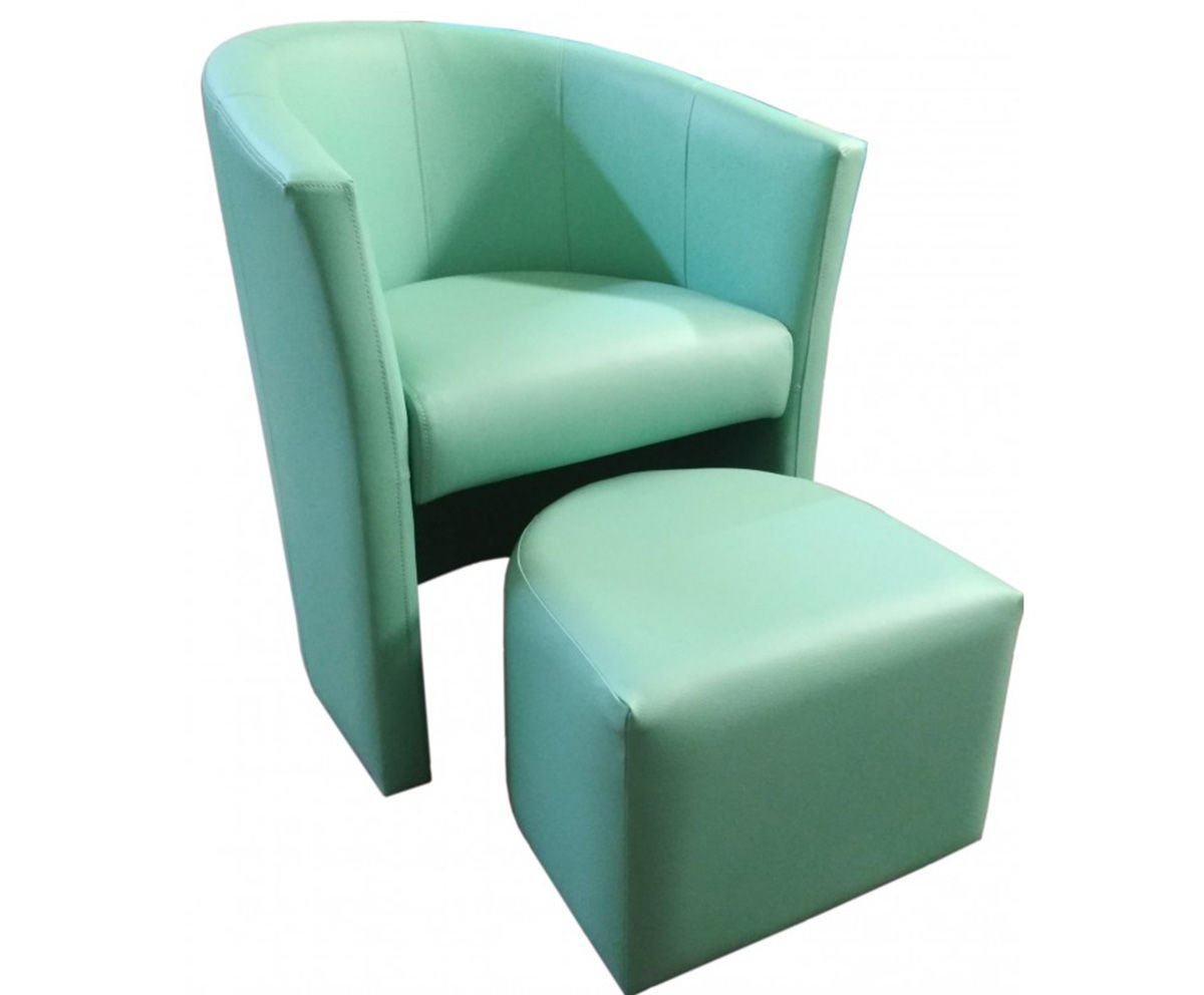 product eng Aquamarine CAMPARI armchair with footrest