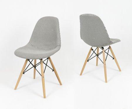 sk design kr012 polster stuhl pepitka pepitka holz buche angebot st hlen salon esszimmer. Black Bedroom Furniture Sets. Home Design Ideas