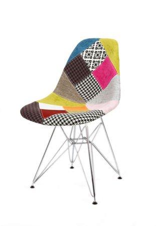sk design kr012 polster stuhl patchwork 1 buche pat. Black Bedroom Furniture Sets. Home Design Ideas